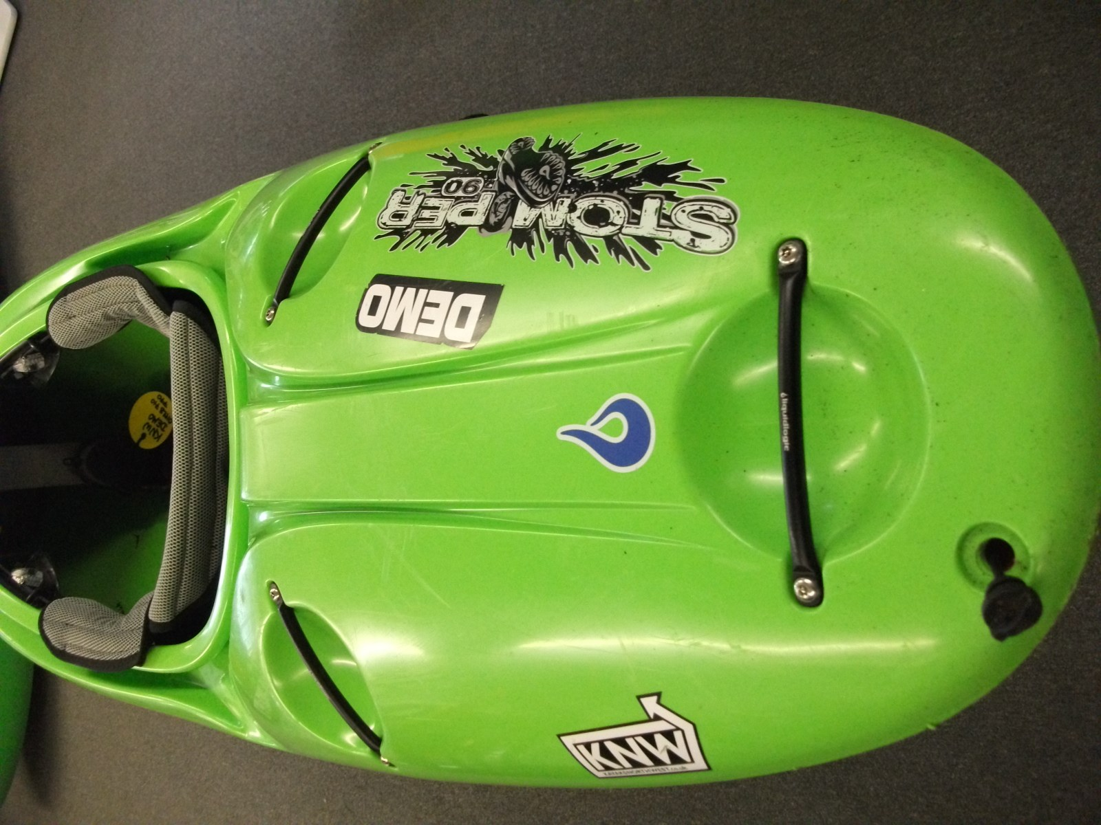 Ex Demo Liquid Logic Stomper 90 Lime 163 750 00