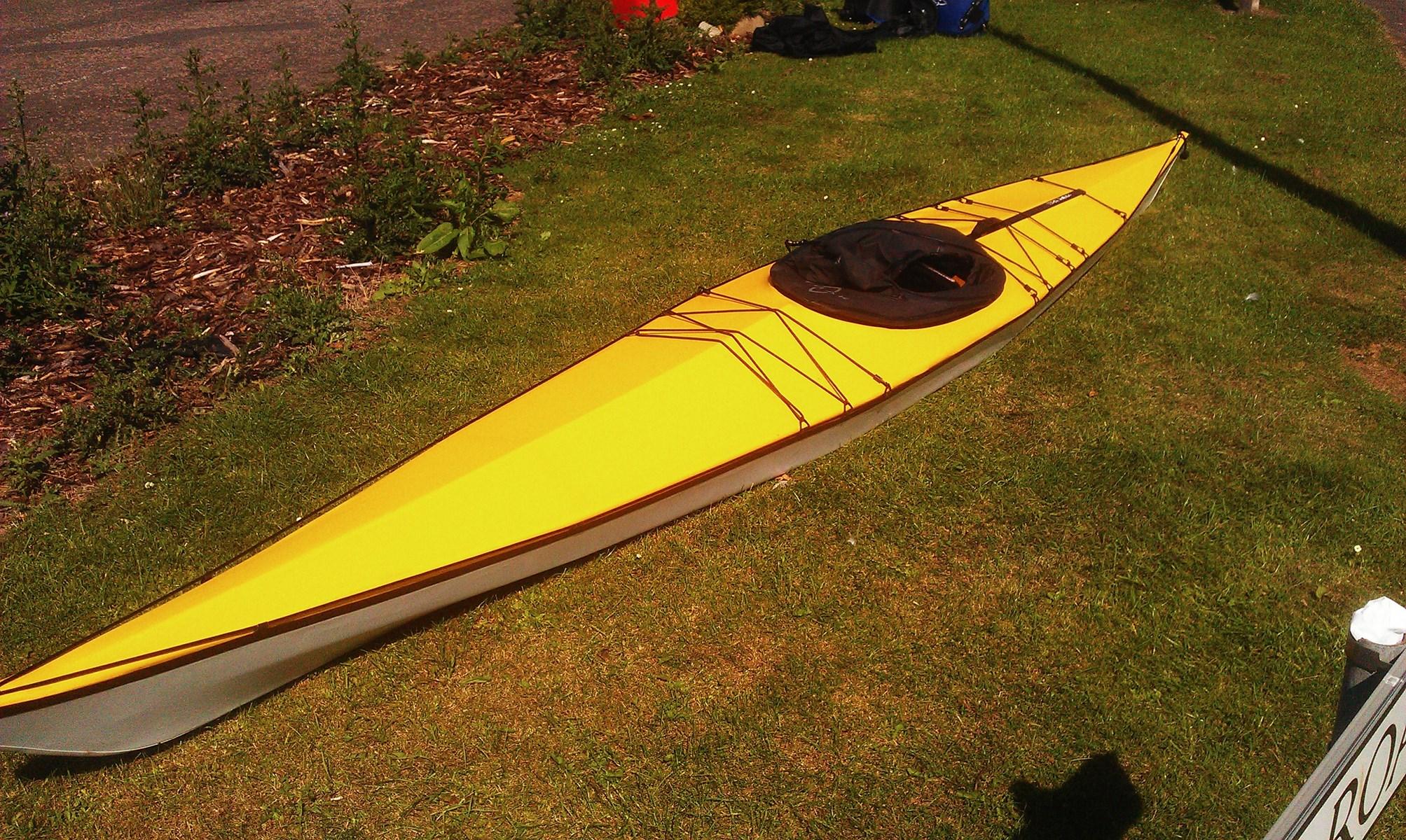Second Hand Trak T 1600 Folding Kayak 163 1 500 00