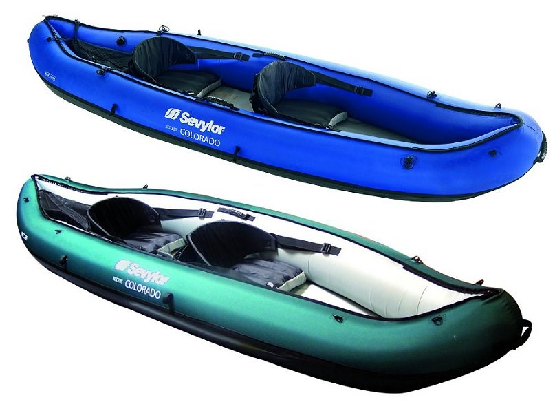 Sevylor Colorado Classic Inflatable Canoe 163 299 99